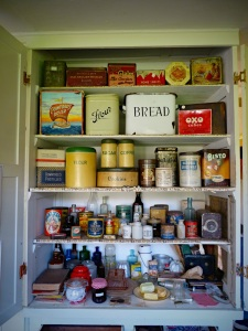 Kitchen cupboard in The Haven