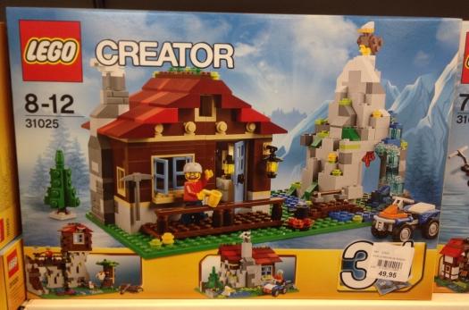 LEGO Mountain Hut