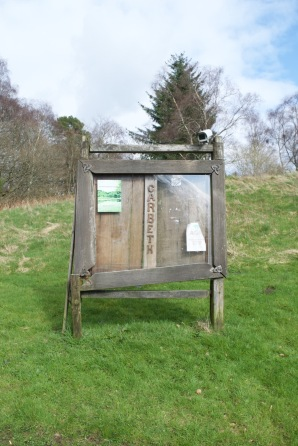 Carbeth notice board